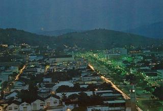 Itp-9065- Postal Itaperuna, R J- Vista Noturna Da Cidade