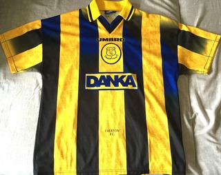 Camisa Everton 1996-98 Uniforme 2 Speed #10 Raríssima