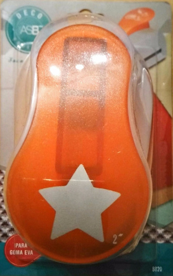 Navidad Decoracion Troqueladora Estrella Goma Eva Asb 50mm.