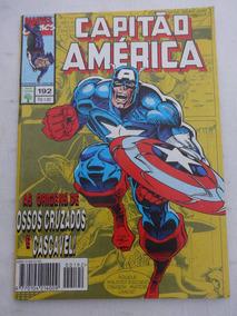 Capitão América Nº 192 - Criaturas Da Noite - Ed.abril -1995