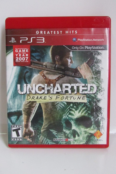 Uncharted Drake´s Fortune - Game Play 3 Original Completo