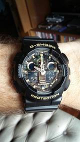 Relógio Casio - G Shock - Ga100cf-1a9 - Usado Só 1 Vez !!!