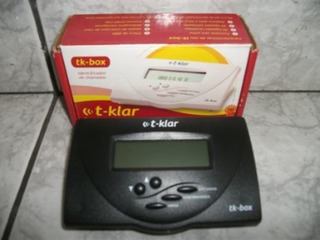 Identificador De Chamada T-klar Novo Na Caixa