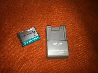 Cargador Sony Bc-tr1 Y Bateria Np-fr1
