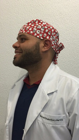 90ac771674 Touca Cirurgica De Caveira Toucas - Acessórios da Moda com o ...