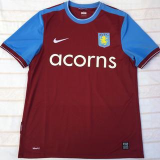 347349-677 Camisa Nike Aston Villa Home 09/10 M Fn1608