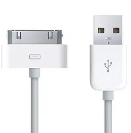 Cabo Usb Dados iPod iPad 2 / 3 iPhone 2g / 3g / 4 / 4s