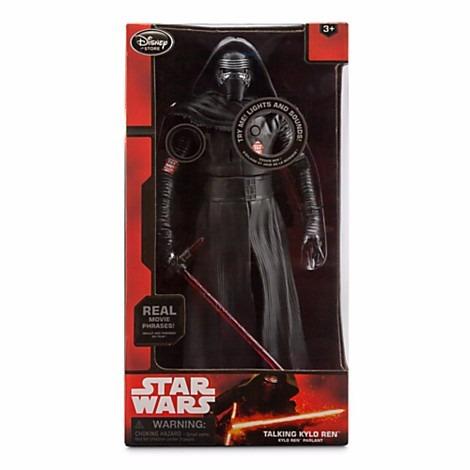 Action Figure Falante Sith Kylo Ren Star Wars Vii Disney