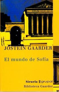 El Mundo De Sofia Gaarder Jostein