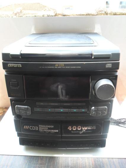 Mini System Aiwa Nsx V420 (não Funciona) (ap120)
