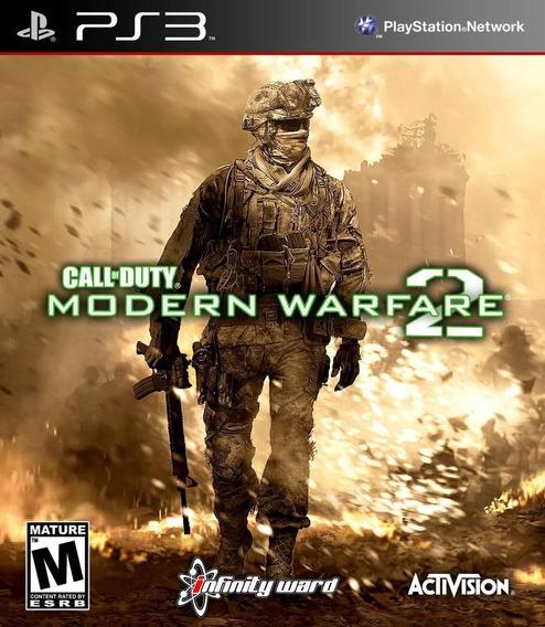 Call Of Duty Modern Warfare 2 Ps3 - M. Física | Playgorila
