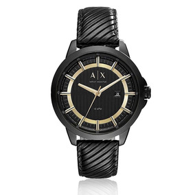 Relógio Masculino Armani Exchange Analógico Ax2266/8pn Couro