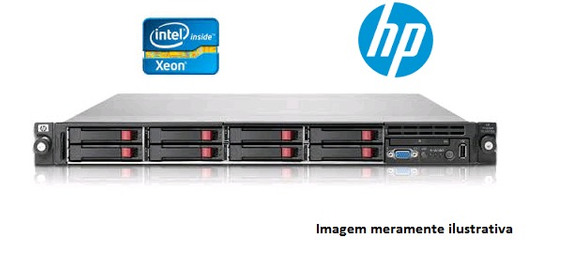 Servidor Hp Proliant Dl360 G6 - Qc 2.4ghz - 6g - 504635-201