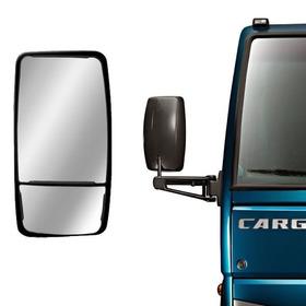 2 Espelho Retrovisor Ford Cargo 815/816/1119 Bipartido Duplo