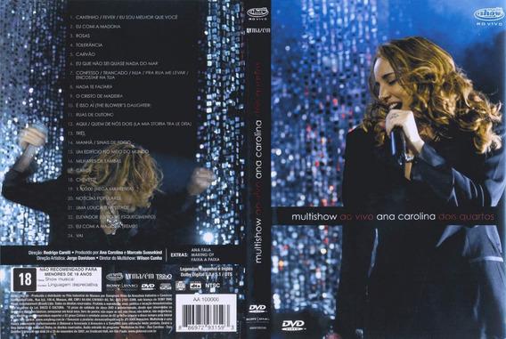 Carolina Ana - Multishow Ao Vivo `dois Quartos - Dvd - S
