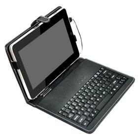 Capa Couro Com Plug Usb Universal + Caneta 7 E 7.7