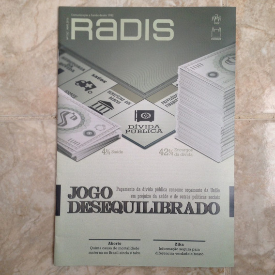 Revista Radis 162 Mar2016 Jogo Desequilibrado Política