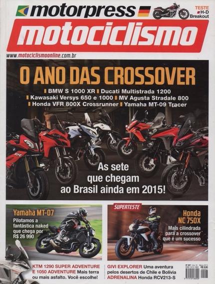 Motociclismo N°207 Yamaha Mt-07 Mt-09 Tracer Honda Nc 750x