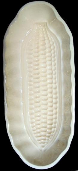 Fôrma Antiga De Cozinha Porcelana Alemã Waechtersbach Milho