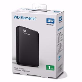 Hd Externo 1tb Wd Portatil Western Digital Elements