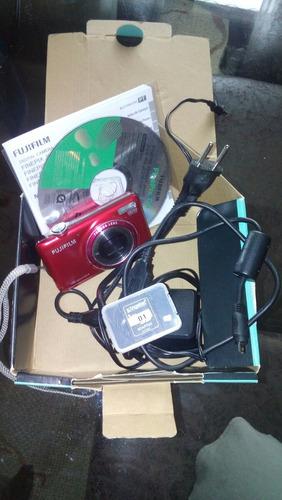 Câmera Fuji Film Vermelha