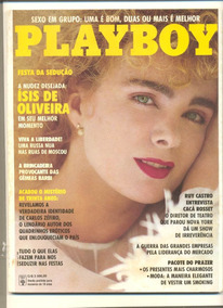 *sll* Revista Playboy N. 196 - Ísis De Olivera Novembro 1991