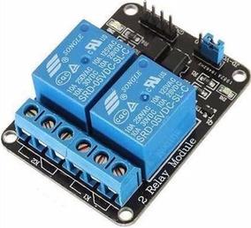 Modulo Shield Rele 2 Canais 5v Arduino Pic Arm Raspberry Pi