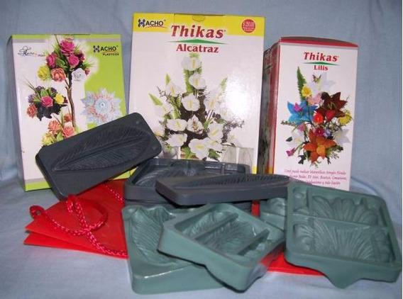 15 Moldes Para Flores Con Goma Eva - 4 Juegos