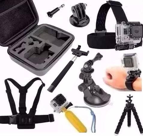 Kit P Gopro Hero Action Cam Go Pro Hd Sport Sjcam Eken H9