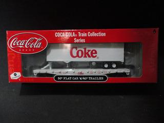Llm Vagon Playo Con Semirremolque Coca Cola Athearn 8300 Ho