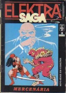 Hq - Gibi - Saga Elektra Nº 3 Ano 1989 Mini Série Em 6 Ediçõ
