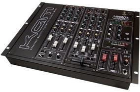 Mesa De Som Kam Profissional Dj Mixer 6 Canal Mixer Mdm 1000