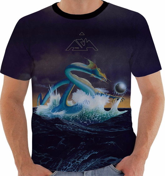 Camiseta Banda Asia Downes Wetton Howe Palmer Band Color