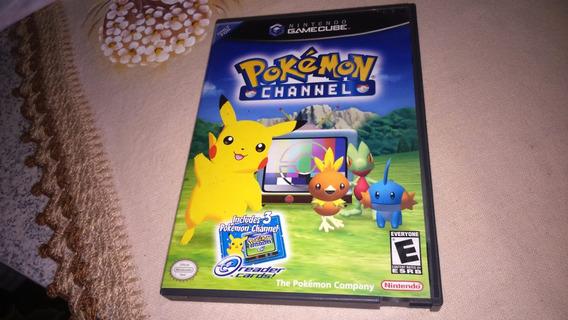 Pokemon Channel Na Caixa P/ Gamecube Americano Ou Nacional