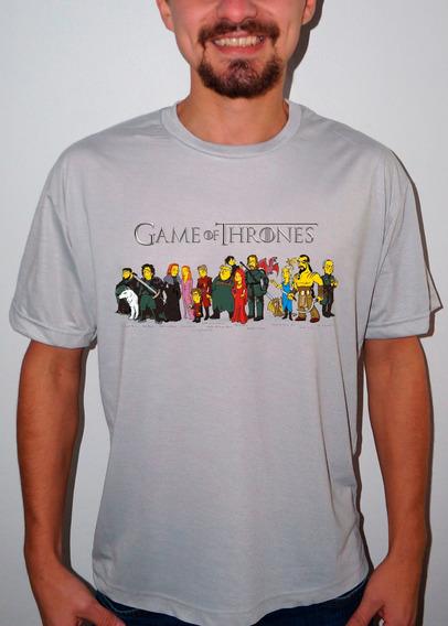 Camiseta Ou Baby Look Game Of Thrones Caricatura 2