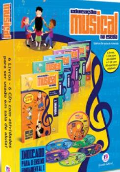 Coleção Educação Musical Ensino Fundamental I + Brinde