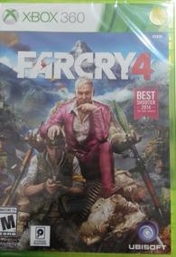 Farcry 4 Xbox 360 Novo Lacrado Envio Imediato
