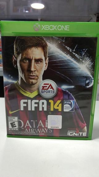 Caixa Vazia Do Jogo Fifa 14 Xbox One
