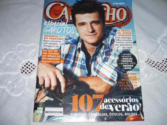 Revista Capricho Com Josh Hutcherson Na Capa + Reportagem