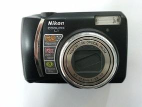 Câmera Fotografica Nikon Coolpix L1 - Ótimo Estado!