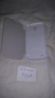 Capa Flip Cover Cartão Galaxy S4 Mini I9192 Pedra Branca
