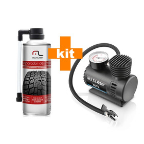 Mini Compressor Ar Automotivo Portátil + Reparo De Pneu