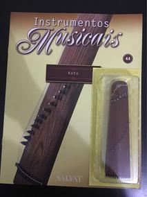Coleção Instrumento Musical Salvat Fascículo 44 C/ Revista