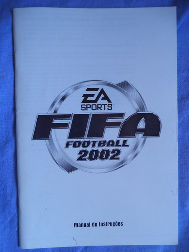 Manual Fifa Football 2002 = Livro Manual Do Game Fifa 2002