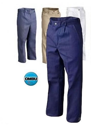 Pantalon Laboral De Gabardina Ombu Del Talle 38 Al 48