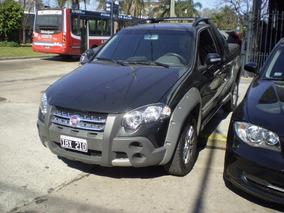 Fiat Strada Adventure 1.8mpi Locker 2009 Negro C/ Extendida