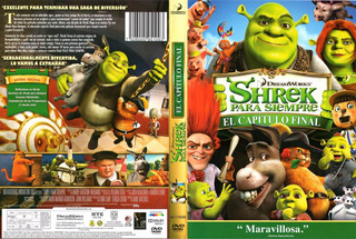 Shrek, Felices Para Siempre (shrek 4) Dvd - O