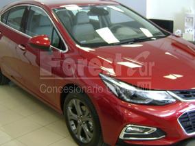 Chevrolet Cruze 5p. 1.4 Turbo Lt Rojo Entrega Inmedia Cc #7