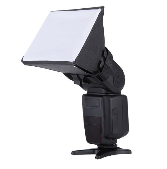 Difusor Flash Mini Softbox Nikon Canon Dobravel