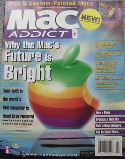 Primeros Números Revista Macaddict, Años 1997-2000